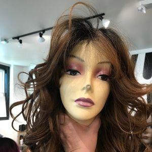 Accessories - Ombré wig 360 fullcap Wig Swisslace Romance Curls
